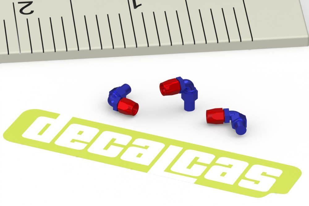 Decalcas PAR047 1,2mm Hose joints (Set 2)