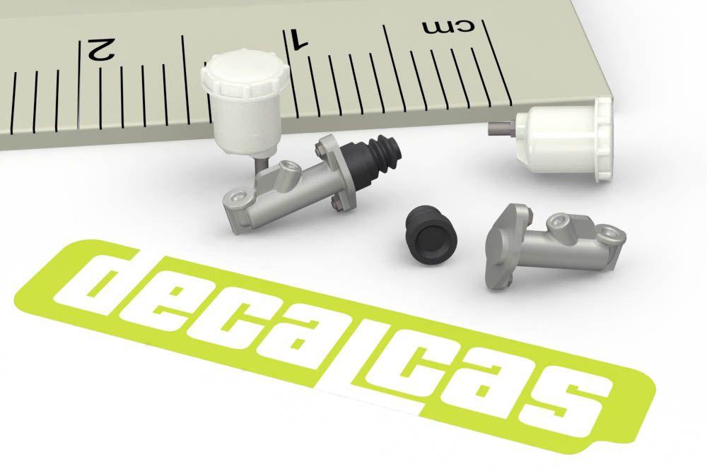 Decalcas PAR049 1/24 1/20 Brake system: Master cylinder and reservoir