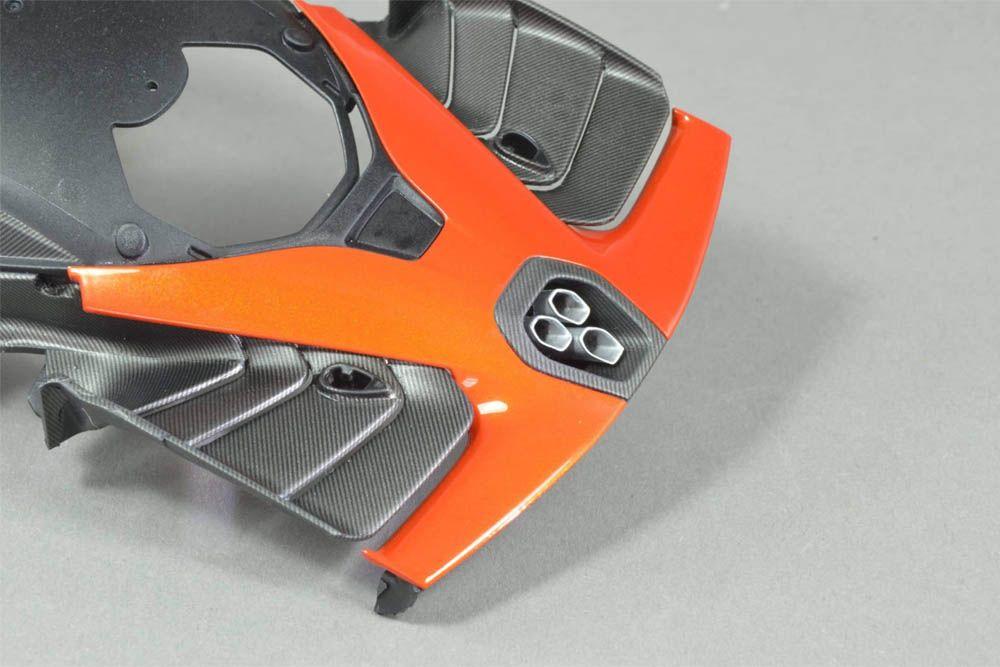 Decalcas DCL-PAR050 McLaren Senna Triple exhaust