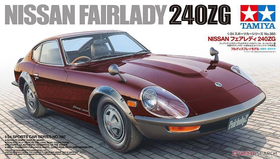 Tamiya 24360 Nissan Fairlady 240ZG