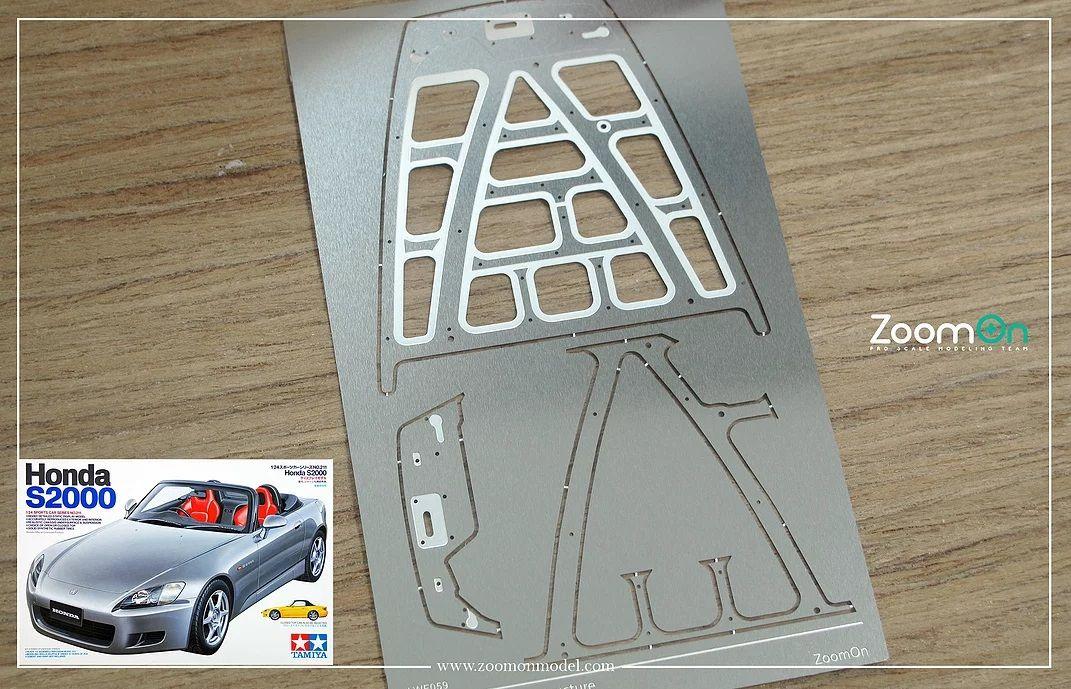 ZoomOn ZD133 Honda S2000 hood structure