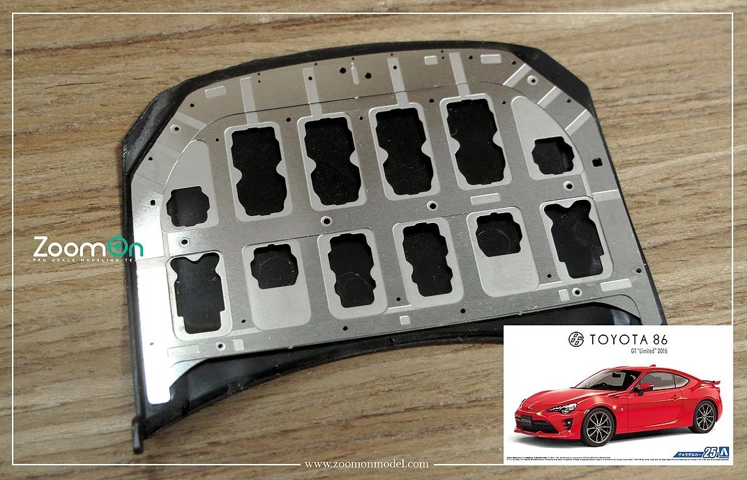 ZoomOn ZD134 Toyota 86 hood structure