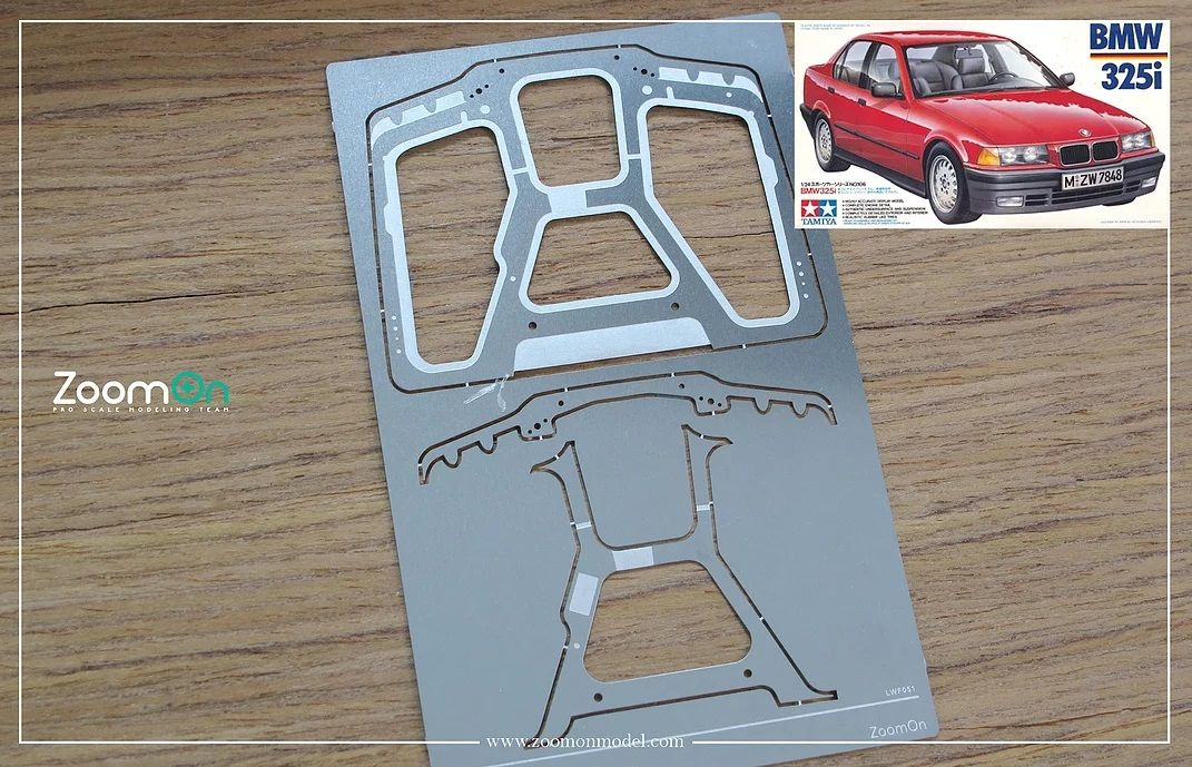 ZoomOn ZD128 BMW 325i hood structure