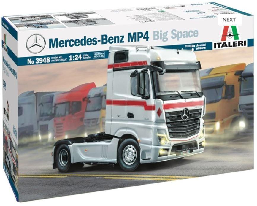 Italeri 3948 Mercedes-Benz MP4 Big Space