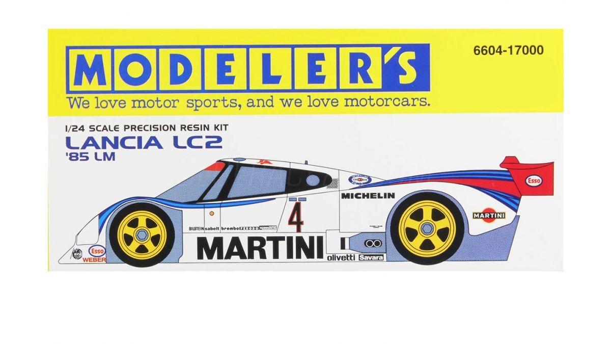 Modeler's 6604 Lancia LC2 1985 LM