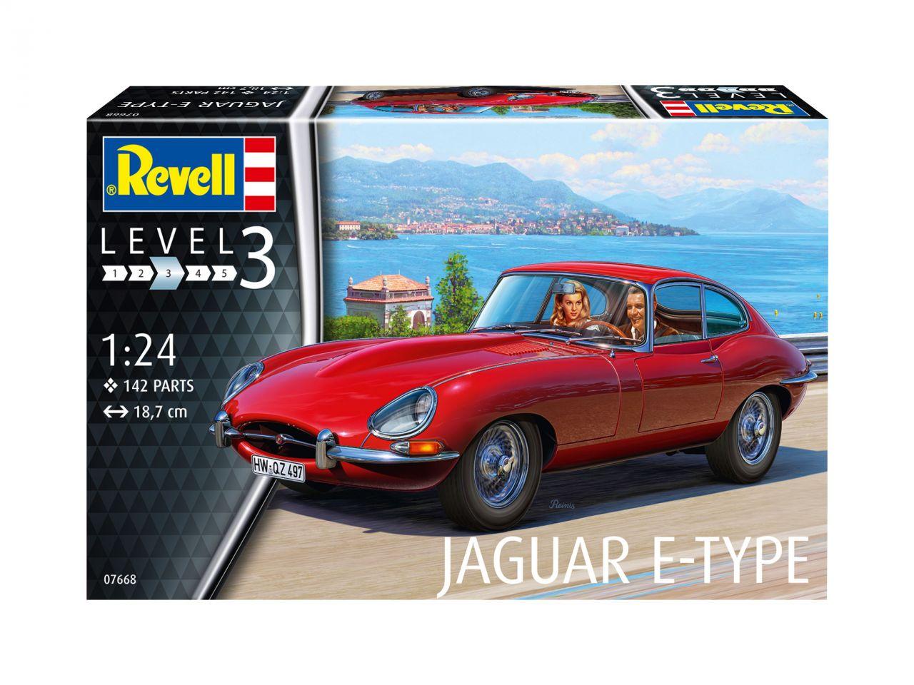 Revell 07668 Jaguar E-Type