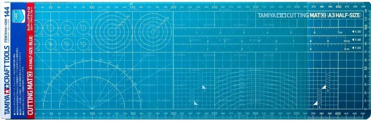 Tamiya 74144 Cutting Mat A3 Half size (450x145 mm)