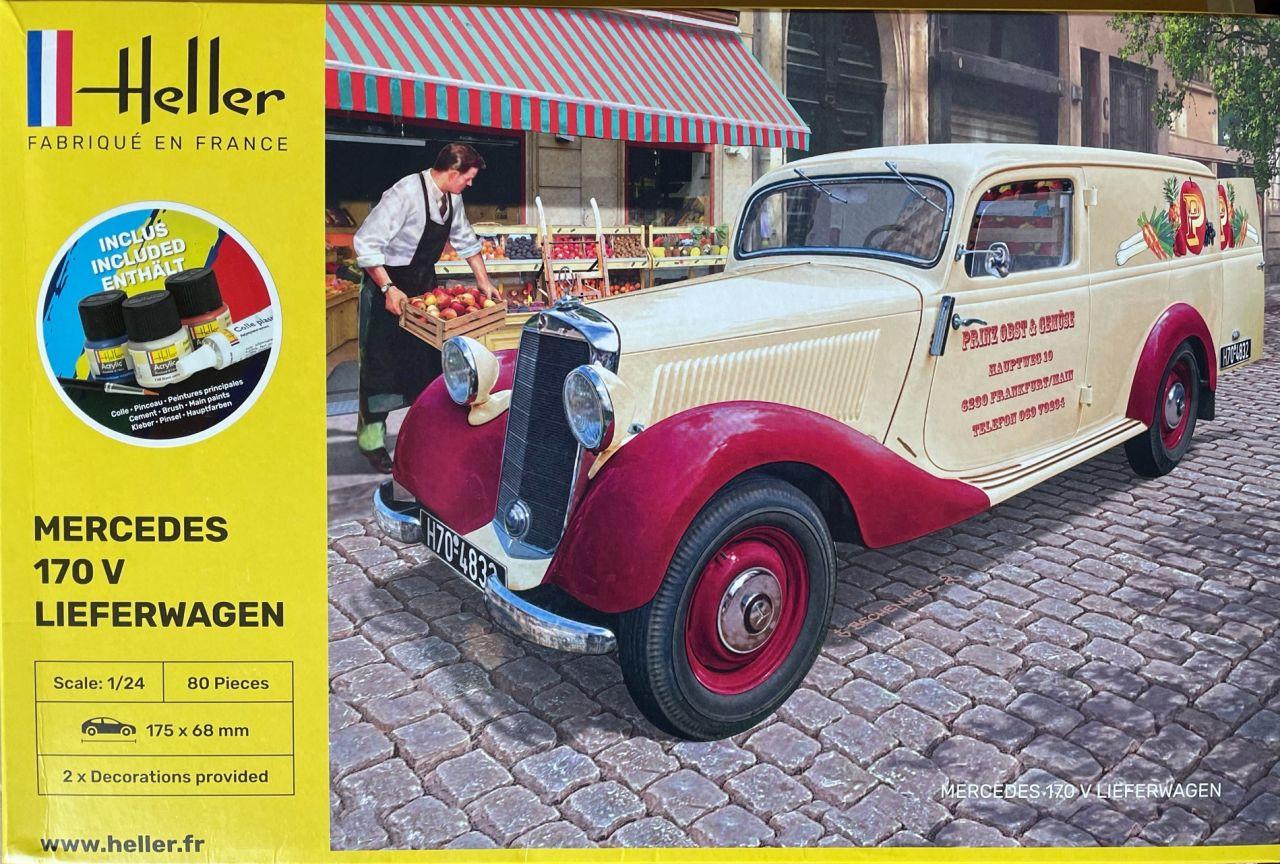 Heller 56736 Mercedes Benz 170 Lieferwagen