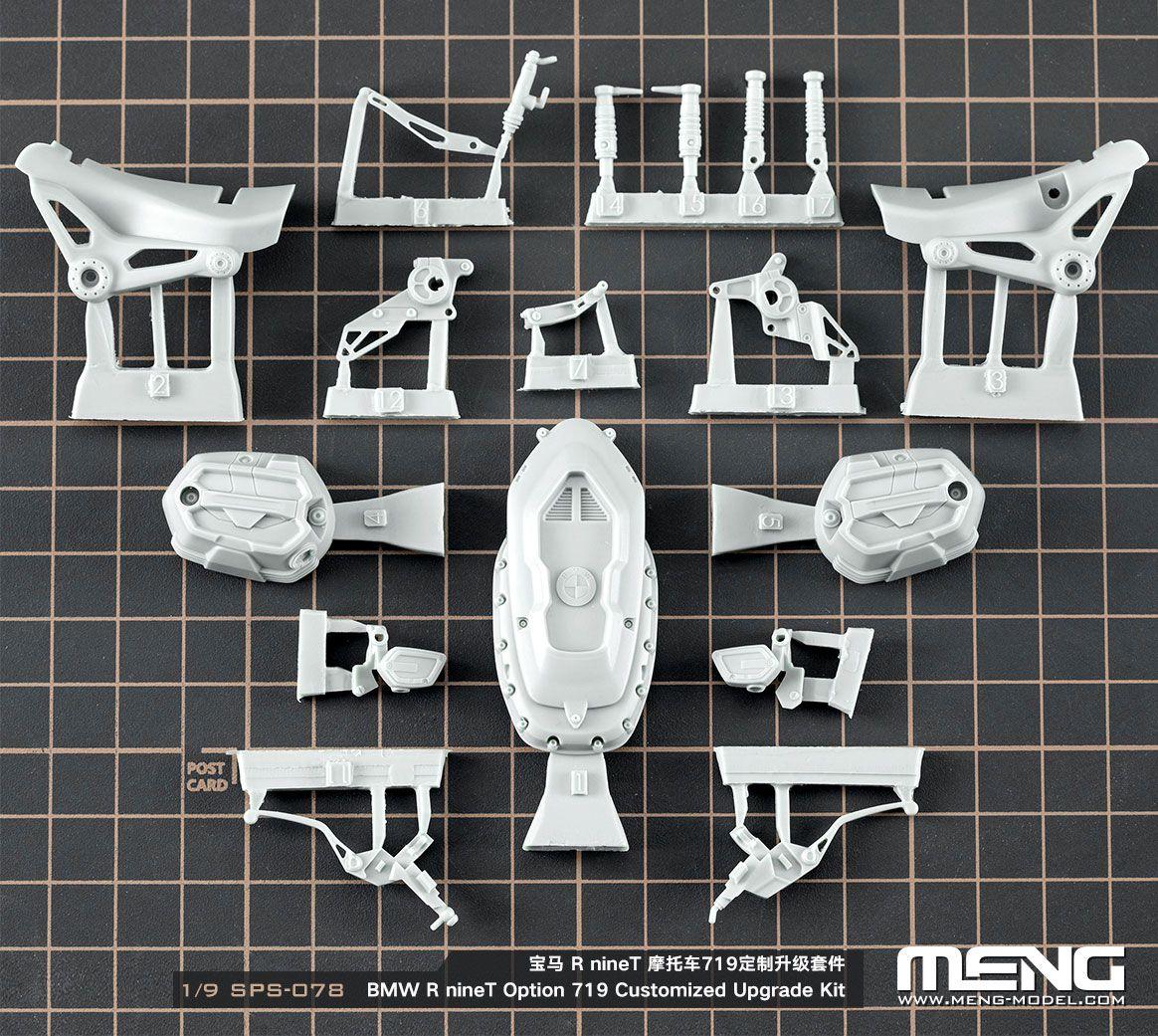 MENG SPS-078 BMW R nine T Upgrade Kit