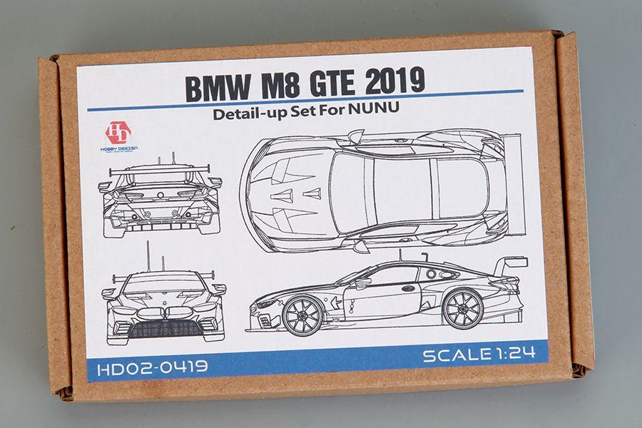 Hobby Design HD02-0419 Bmw M8 Gte 2019 Detail-up Set For NUNU