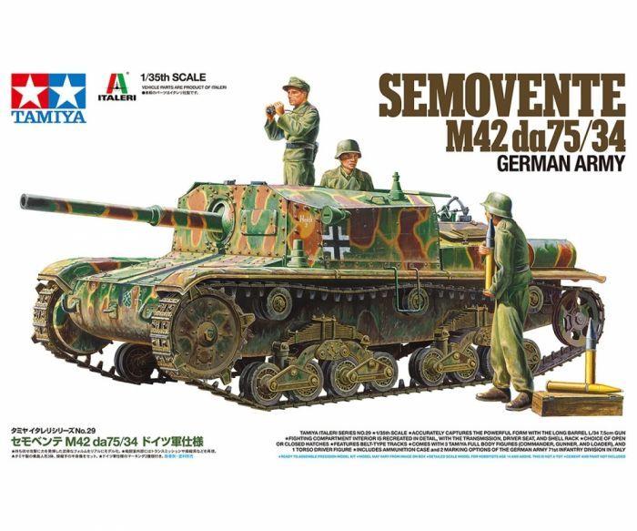 Tamiya 37029 Semovente M42da75/34 German Army