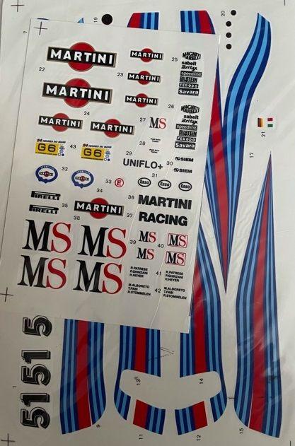 Little Garage LG06 Lancia Group-6 1982 Le Mans Martini Racing