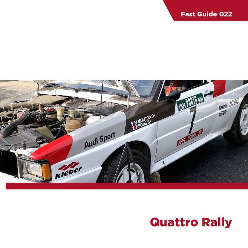 Komakai KOM-FG022 Fast Guide Quattro Rally