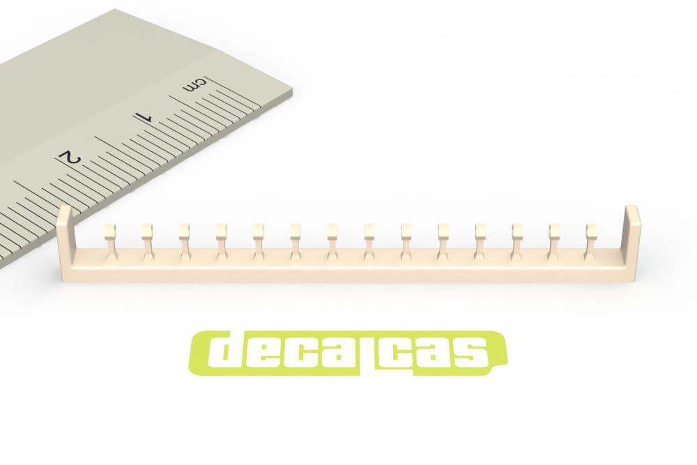 Decalcas PAR048 1,2mm Hose joints (Set 3)