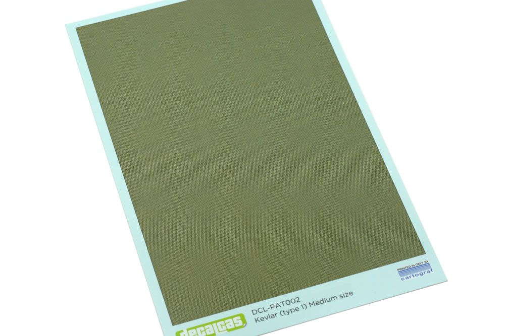 Decalcas PAT002 - Kevlar (type 1) Medium Size