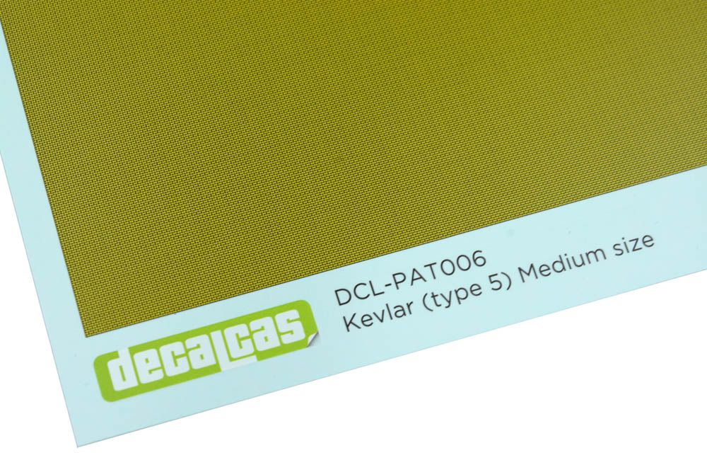 Decalcas PAT006 - Kevlar (type 5) Medium Size