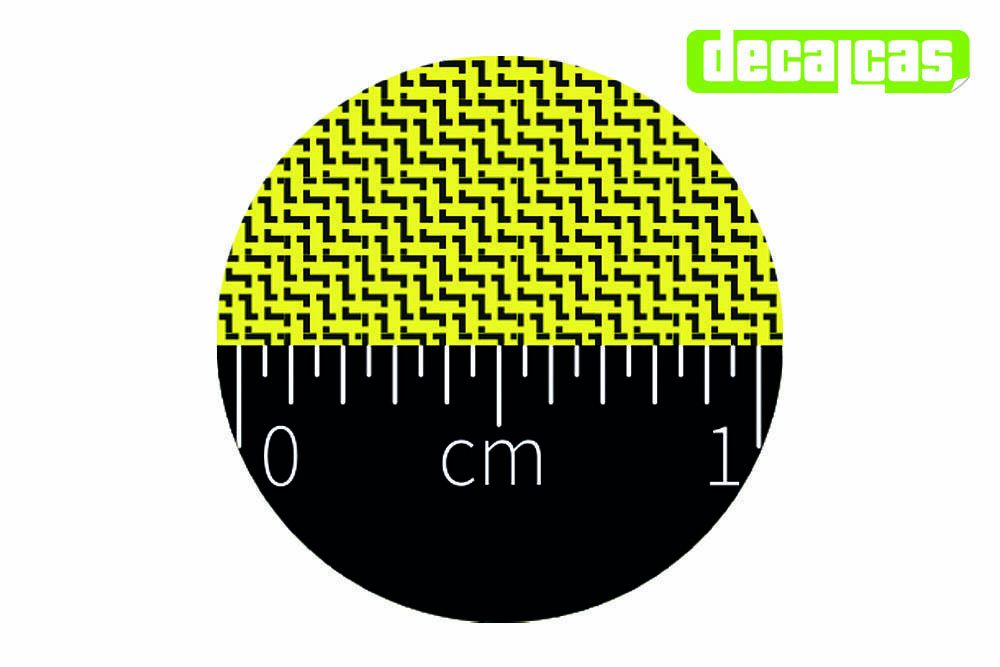 Decalcas PAT007 - Kevlar (type 6) Medium Size