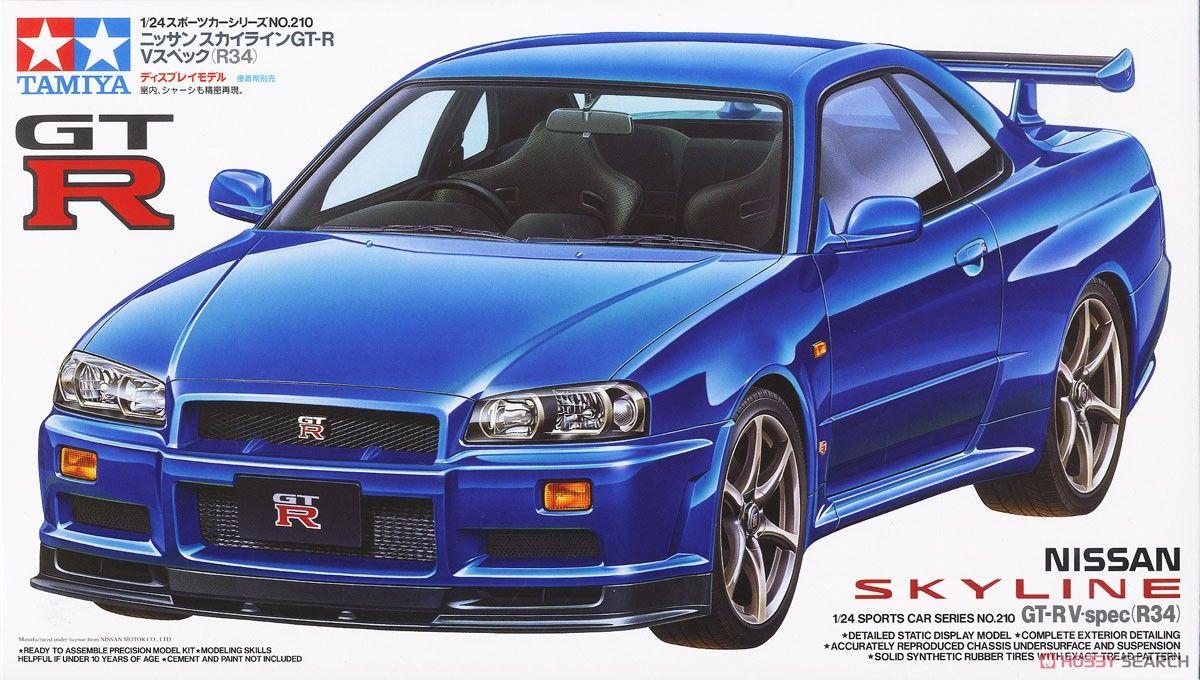 Tamiya 24210 Nissan Skyline GT-R V-Spec (R34)