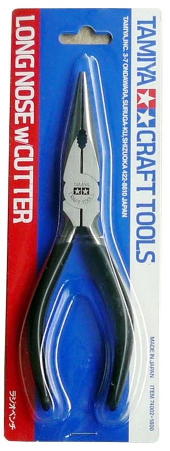 Tamiya 74002 Long Nose Pliers with Cutter