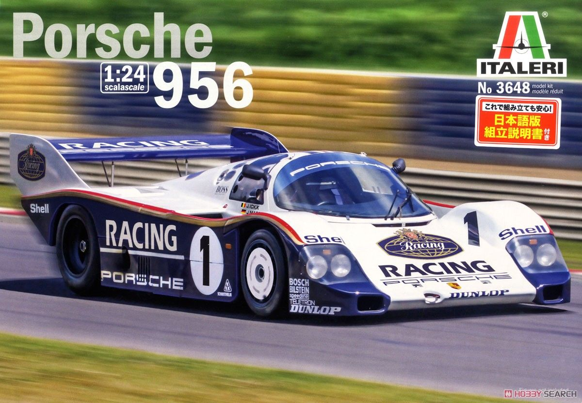 Italeri 3648 Porsche956 GroupC