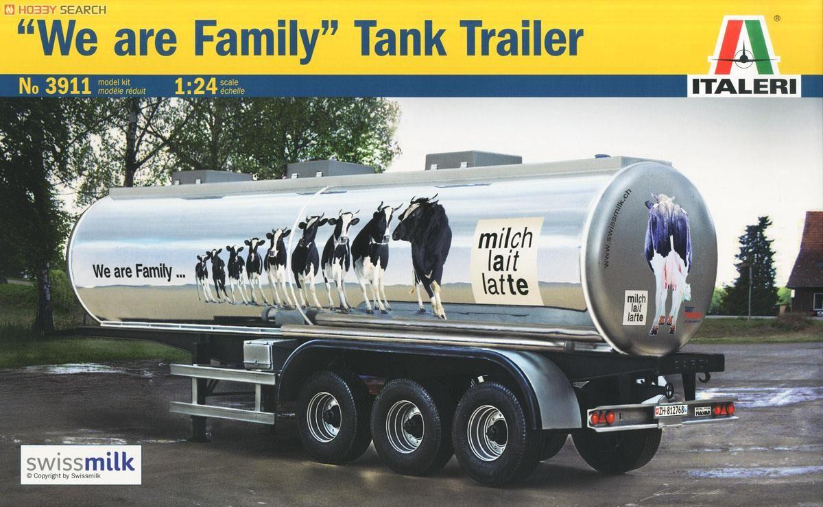 Italeri 3911 Classic Tank Trailer `We Are Family`