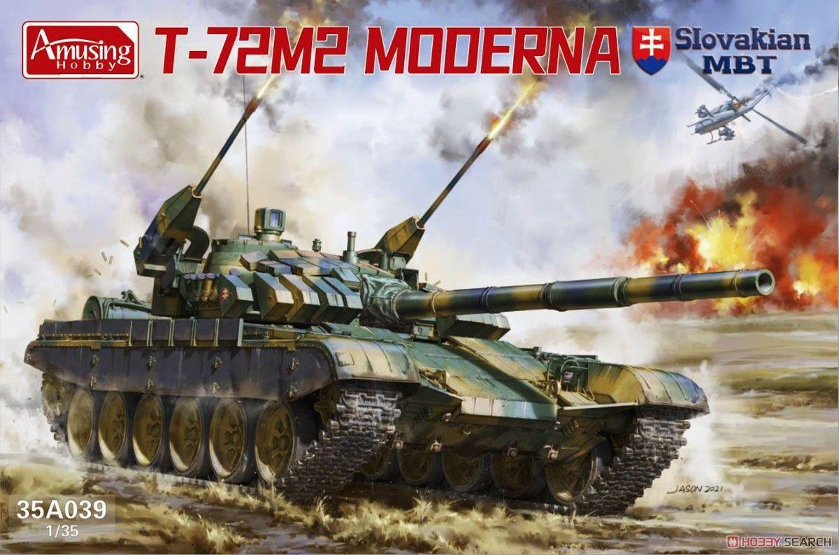 Amusing Hobby 35A039 T-72M2 Moderna Slovakian MBT