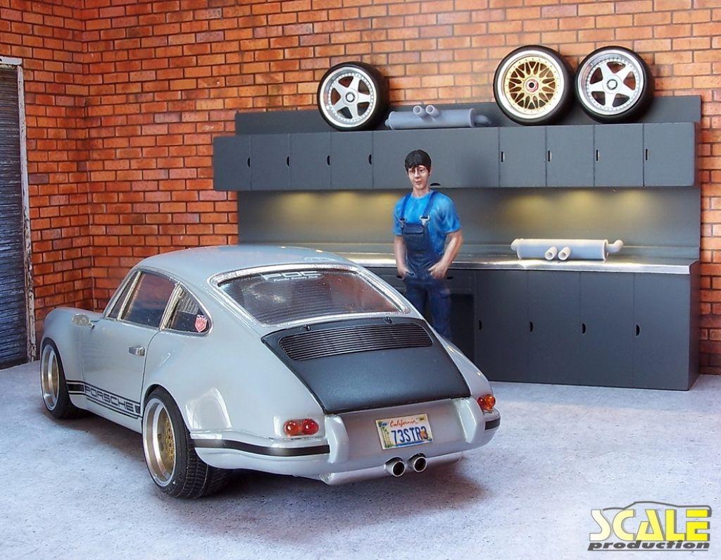 Scale Production SP24306 Exhaust Muffler #3 (Porsche) 1pc