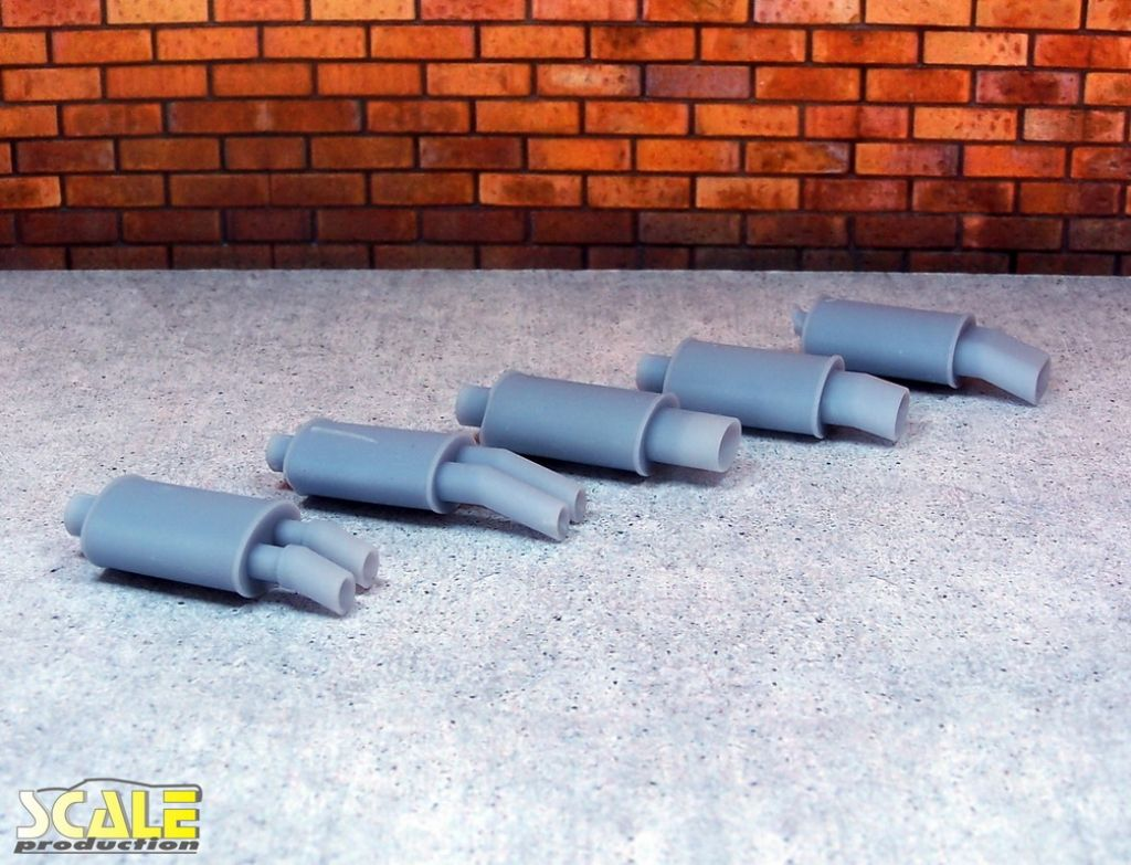 Scale Production SP24303 Exhaust muffler #1 1pc.