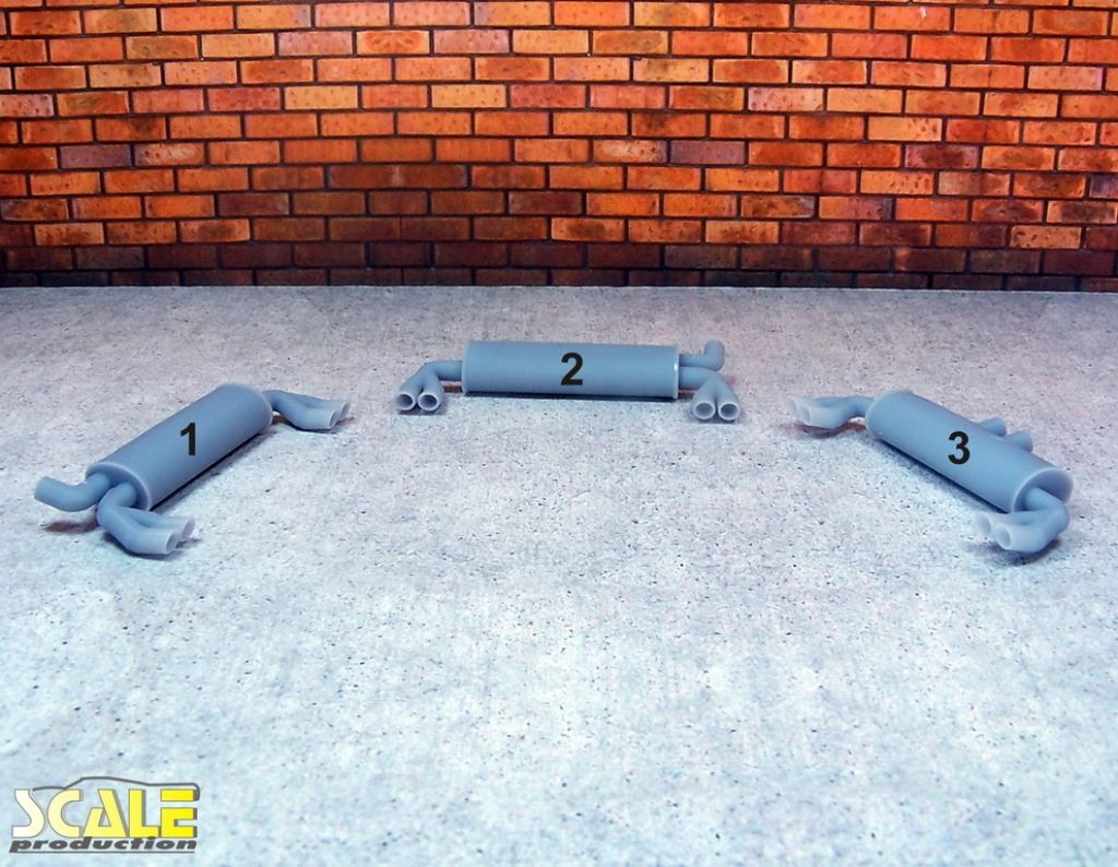 Scale Production SP24304 Exhaust muffler #2 1pc.