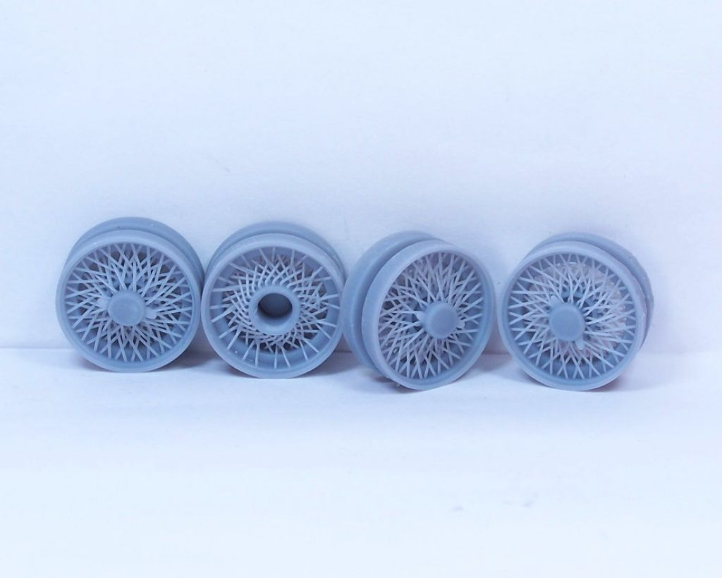 """Scale Production SPRF_Wire 15"""" wire wheels"""