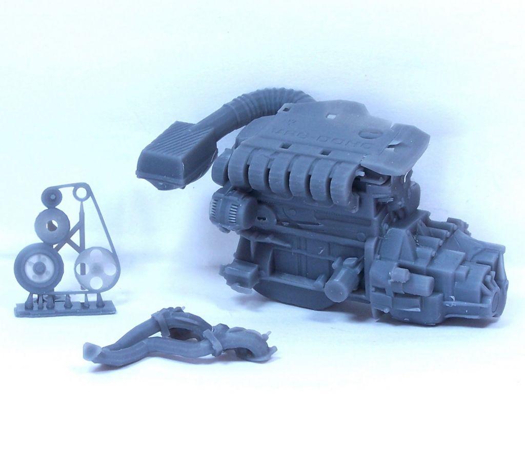 Scale Production SP-VR6 VW VR6 Engine