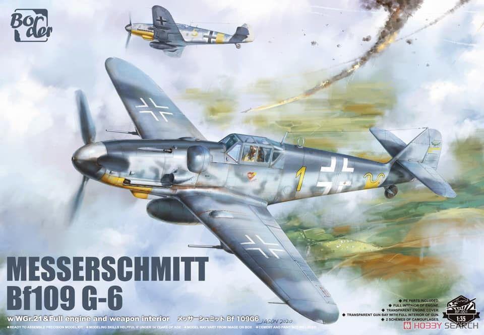 Border Model BF001 Messerschmitt BF109G-6