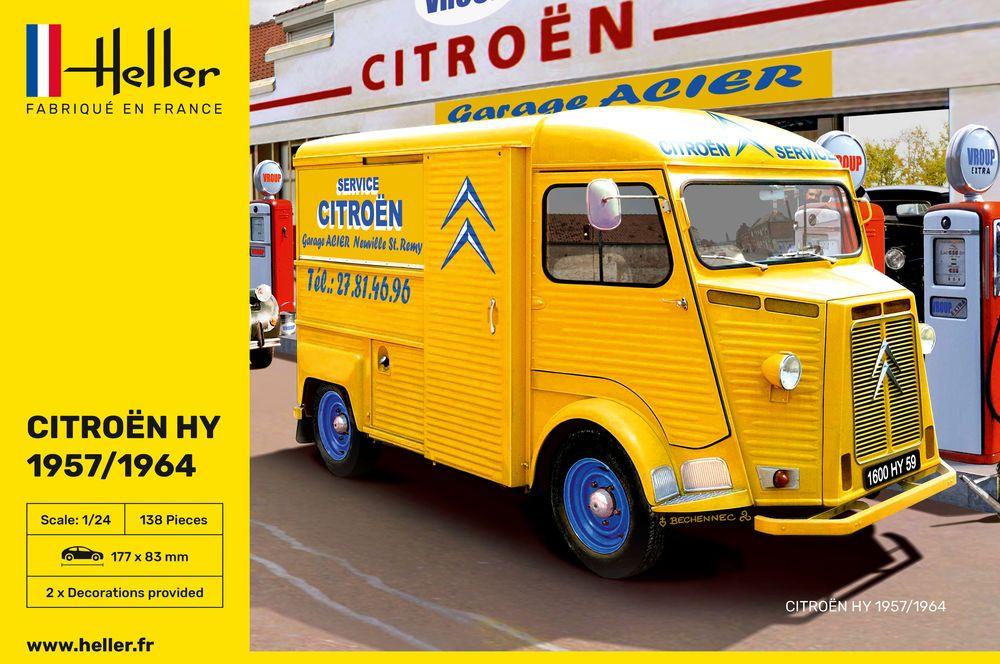 Heller 80744 CITROEN HY 57-64 Service Citroen