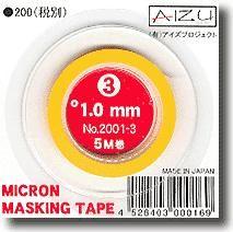 AIZU AIZU10 Micron Masking Tape 1.0mm x 5m